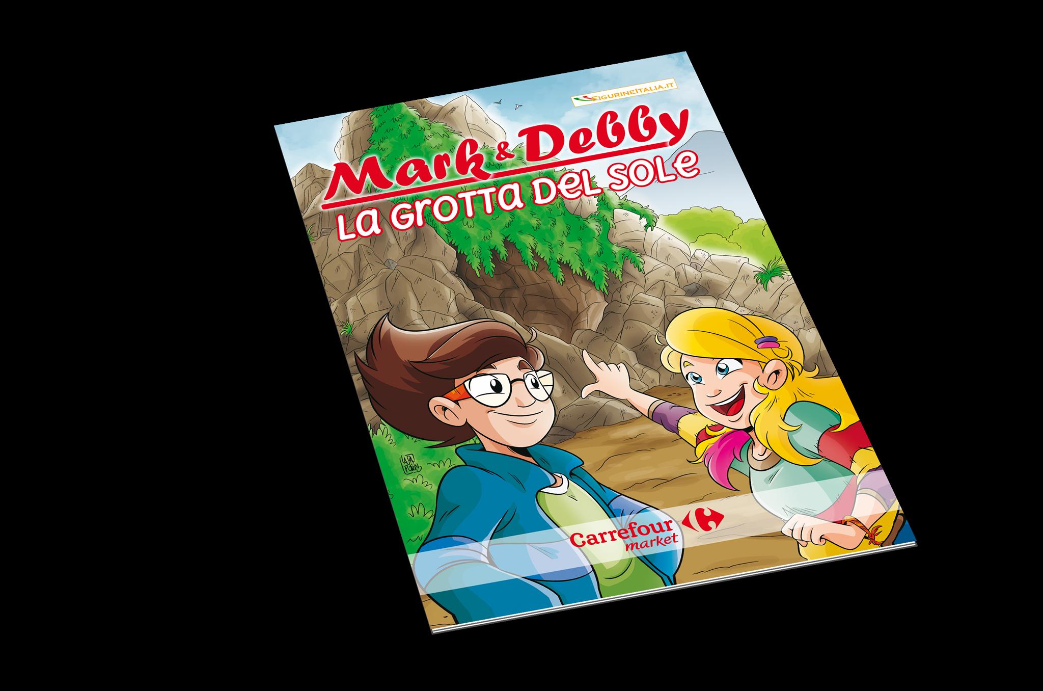 Mark & Debby la grotta del sole: copertina dell'album