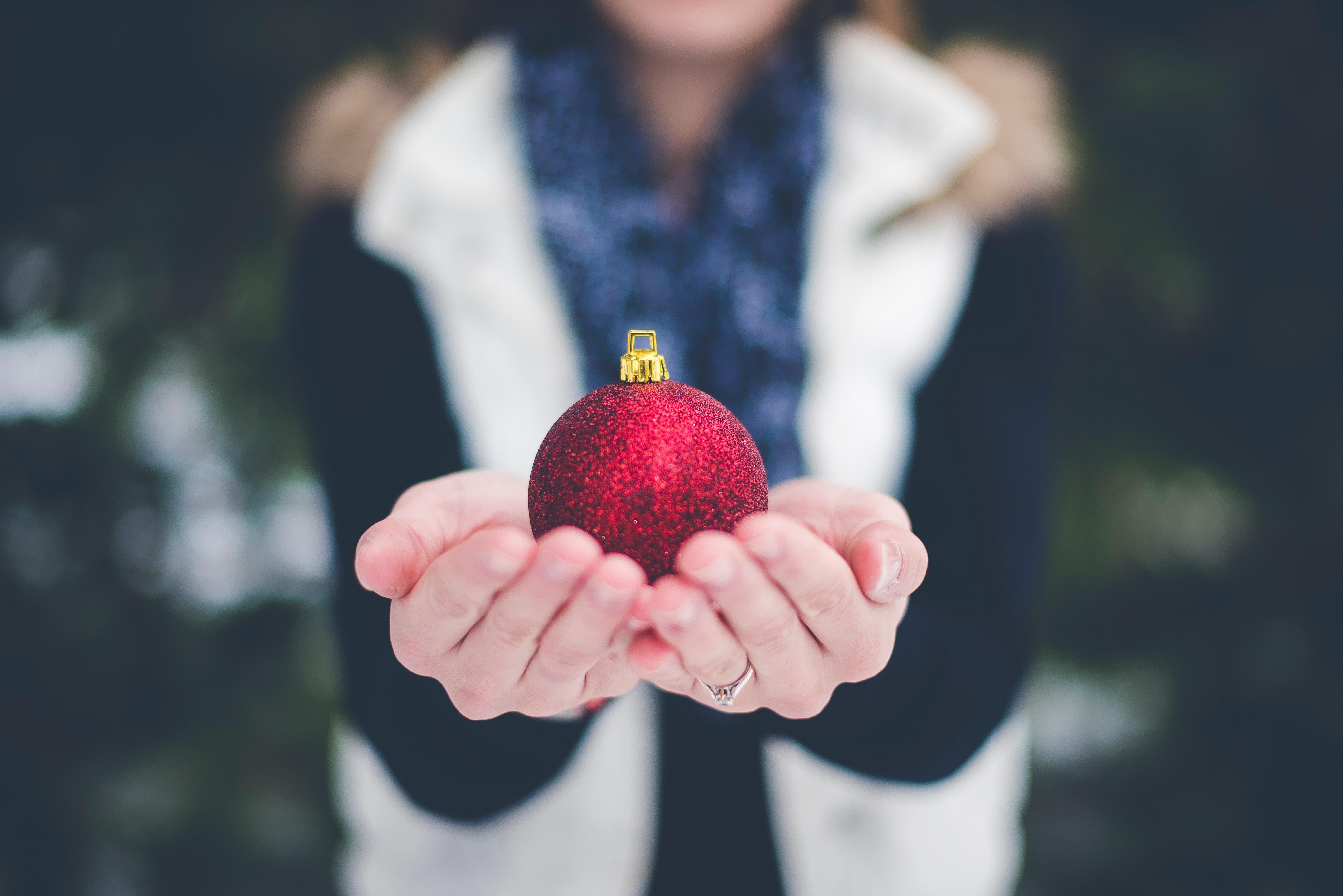 Una palla di natale personalizzata è un foto regalo personalizzabile perfetto
