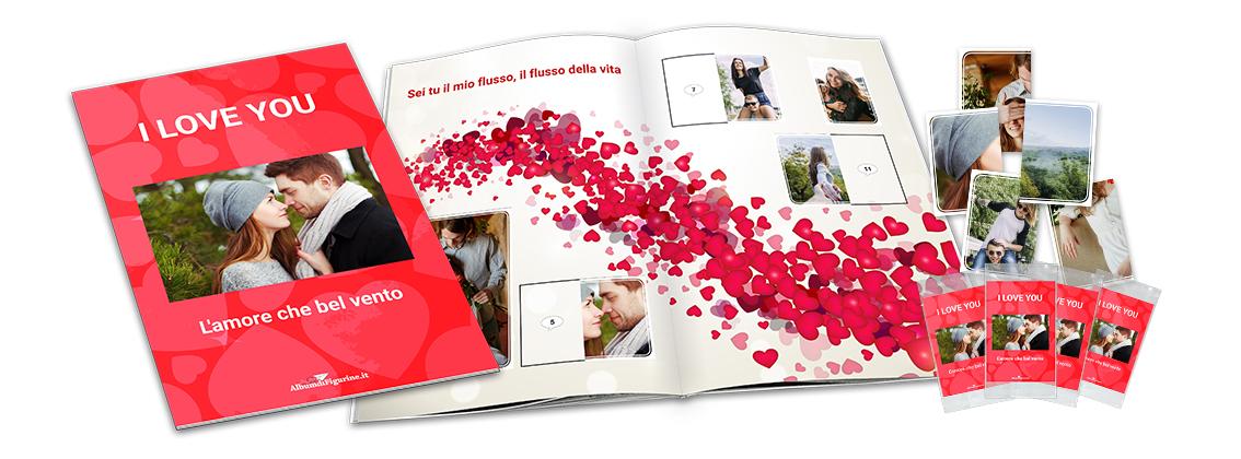 Il miglior regalo fai da te per San Valentino con le foto è un album di figurine